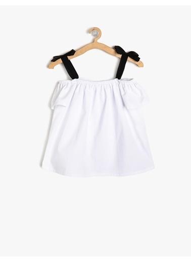 Koton Kids Bluz Beyaz